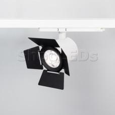 Бленда с посадочным кольцом LGD-NIKA-BDR-R100 (BK) (Arlight, Металл)