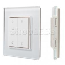 Панель Knob SR-2833RGB-RF-UP White (3V,RGBW,1зона) SL017740