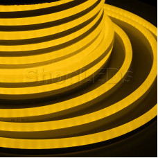 Гибкий Неон LED - желтый, бухта 50м