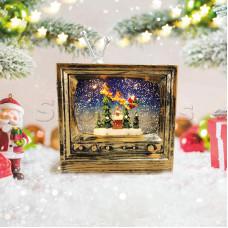 Декоративный светильник «Телевизор» с эффектом снегопада NEON-NIGHT