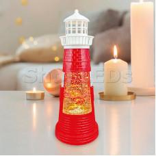 Декоративный светильник «Маяк красный» с конфетти и подсветкой, USB NEON-NIGHT