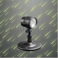 Лазерный проектор «Метеоритный дождь» с пультом ДУ NEON-NIGHT