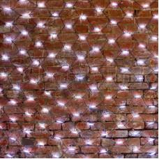 Гирлянда - сеть 2x4м, черный КАУЧУК, 560 LED Белые