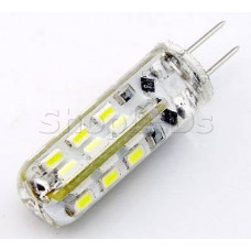 Светодиодная лампа DL220-G4-2W  (220V, 2W, 130 lm) (теплый белый 3000K)