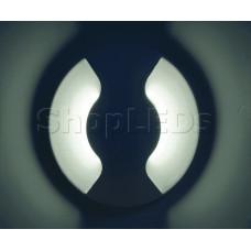 Светодиодный светильник C2-C2-W-3 (220V, 3W, белый корпус) (белый 6000K)